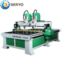 Buy cheap Independent 2 heads CNC Router from wholesalers