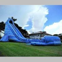 Quality Inflatable Hurricane Water Slide for sale