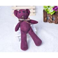 Quality Plush Bear Keychain Factory for sale