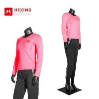 China Flexible Full Body Sports FRP Material Standing Female Mannequin on sale