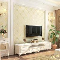 Quality European Non-woven Simple Bedroom Marble Living Room TV Background Wall Wallpaper for sale
