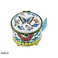 China Greeting Cards and Stationary US Postal Stamp Holder Butterflies and Flowers on sale