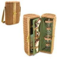 Quality Bar & Wine Picnic Time Bacchus Deluxe Wine Basket for sale