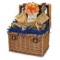 Quality Bar & Wine Picnic Time Chardonnay Gift Basket for sale