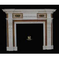 Quality Marble fireplaces Inlaid Fireplaces 02 for sale