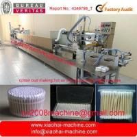 China Full automatic cotton buds machine ( bud swab,hot air drying,packing in one step) on sale