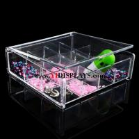 Quality acrylic jewelry display case for sale