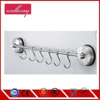 Quality Self Adhesive Rack with 6 Hooks 304 Stainless Steel for sale