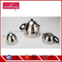 insulated material Coffee Pot authentic cappuccino maker 3 set