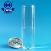 Quality Clear BPA Free 200# 330ml 11OZ 0.07GAL Juice PET Cans Plastic Drink Packing for sale