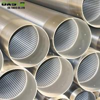 Quality Triangular Wire Type 316L Grade Water Well Screen Pipes for sale