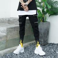 Buy cheap Custom High Quality Cotton Slim Fit Mens Casual Blank Drawstring Streetwear Jogger Pants from wholesalers