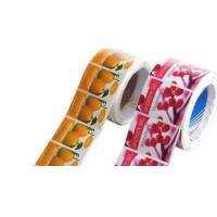 China Full Color Printing Rolled Vinyl Sticker on sale