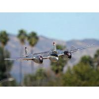 China FlightLine RC P-38L Lightning Pacific Silver 1600mm (63 inch) Wingspan - PNP RC Airplane on sale