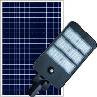 Buy cheap High brightness lumens Semi integrated solar street light with Life PO4 battery from wholesalers
