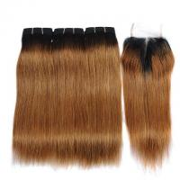 Buy cheap Vvwig 1B 30 Ombre Hair Brazilian 100 Unprocessed Hair 10A Grade Super Soft Straight Hair 3 Bundles from wholesalers