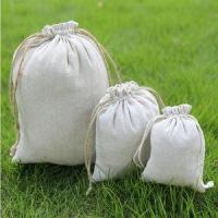 Quality Hot Selling Promotional Organic Cotton Drawstring Bag for sale