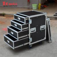 Quality TourGo Custom Large Production 12U Flight Case With 4 Drawer for sale