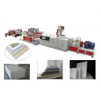 Buy cheap PVC/WPC Wood-Plastic Skin Foam Board Production Line from wholesalers
