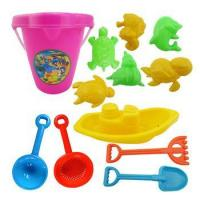 Buy cheap Low price outdoor digging unique beach pail and shovel in a bag sand toy from wholesalers