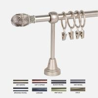 China DT0040 Decorative double curtain rods on sale