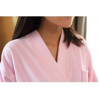 China China wholesale 100% cotton velvet cloth robes on sale