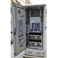 China DDTE080:19 Inch Rack Integrated Outdoor Telecom Cabinet With Heat Air Cooler,Rectifier on sale