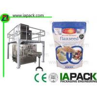 Buy cheap Flaxseed Zipper Premade Pouch Filling Machine Including Linear Scale from wholesalers