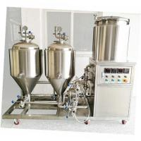 Buy cheap 60L 100L mini brewing system for home bar from wholesalers