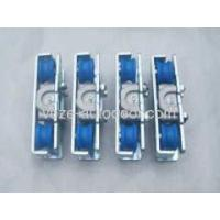 China sliding door hangers for doors on sale
