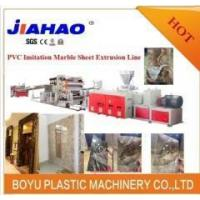 Quality PVC marble wall panel extrusion line for sale