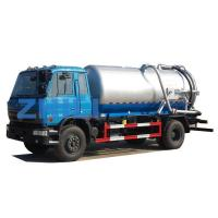 Buy cheap dongfeng new vacuum sewage suction truck 10000L from wholesalers
