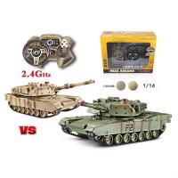 Quality 2.4G 1:14 Battle Tank main battle tank multi-function console for sale