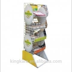 Buy KingKara KAKS305 metal poster stand with clothing displays for furniture for shoe shop at wholesale prices