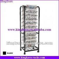 Quality KingKara MCS1007 Metal Wire Newspaper Stand for commercial advertisement for sale