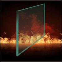 China Monolithic fire rated glass on sale