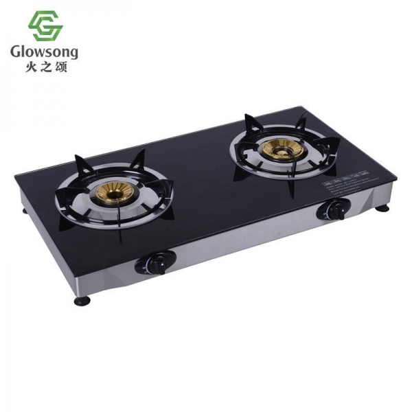 Buy Tempered Glass Panel Gas Stove SGB-03 at wholesale prices