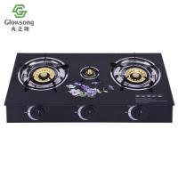Quality Tempered Glass Panel Gas Stove SGB-05D for sale
