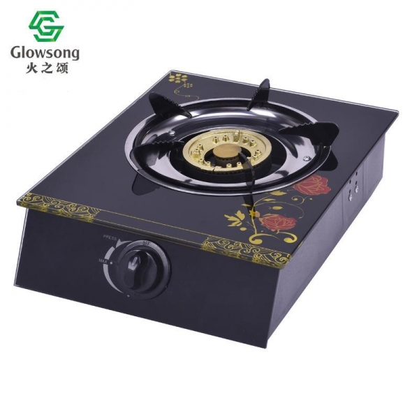 Buy Tempered Glass Panel Gas Stove SGB-04 at wholesale prices