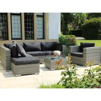 Buy cheap Fancy cheap wicker sun lounger with shade for outside leisure from wholesalers