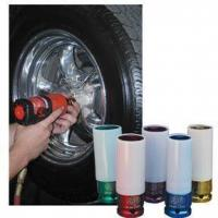 Quality Tool Specials Item  5 Pc. SAE/Metric Protective Impact Socket Set for sale