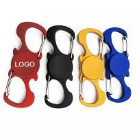 Quality Multifunctional fidget spinner with carabiner and bottle opener for sale