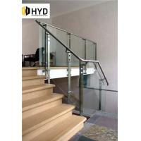 China HYD-GR051Glass balcony/swimming pool fence/balustrade/fencing/frameless glass railing systems on sale