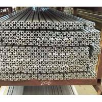 Buy cheap Customized 6063 v-slot t-slot aluminum profile for industry production line from wholesalers