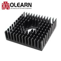 3D Printer Accessories MK7/MK8 Heat Sink In Black 40*40*11MM
