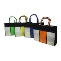 Quality Square Reusable Carrier Bags / Reusable Grocery Bag For Advertising for sale