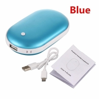 China Fashionable hand heater colorful usb hand warmer power bank electric heat pack for winter_HL3646 on sale