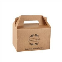 Buy cheap Disposable Cake Box With Handle from wholesalers
